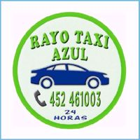 Taxi Rayo azul, servicio de transporte de pasajeros y encargos en la ciudad de Victoria, Región de la Araucanía, primera ciudad digitalizada de Chile